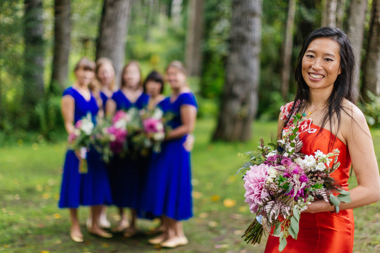 Floral design by Natasha Price of Paper Peony Alaska | Photo by Chugach Peaks Photography