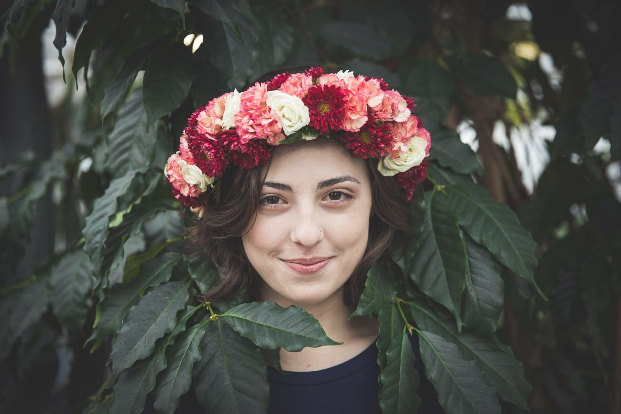 Crowns paper peony flower crown by natasha price of paper peony alaska and photo by cleo jane photography izmirmasajfo