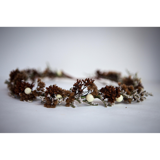 dried crown by Natasha Price of Paper Peony Alaska
