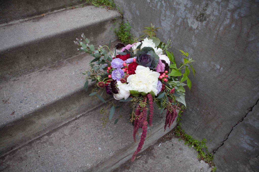 Bridal bouquet by Paper Peony Alaska