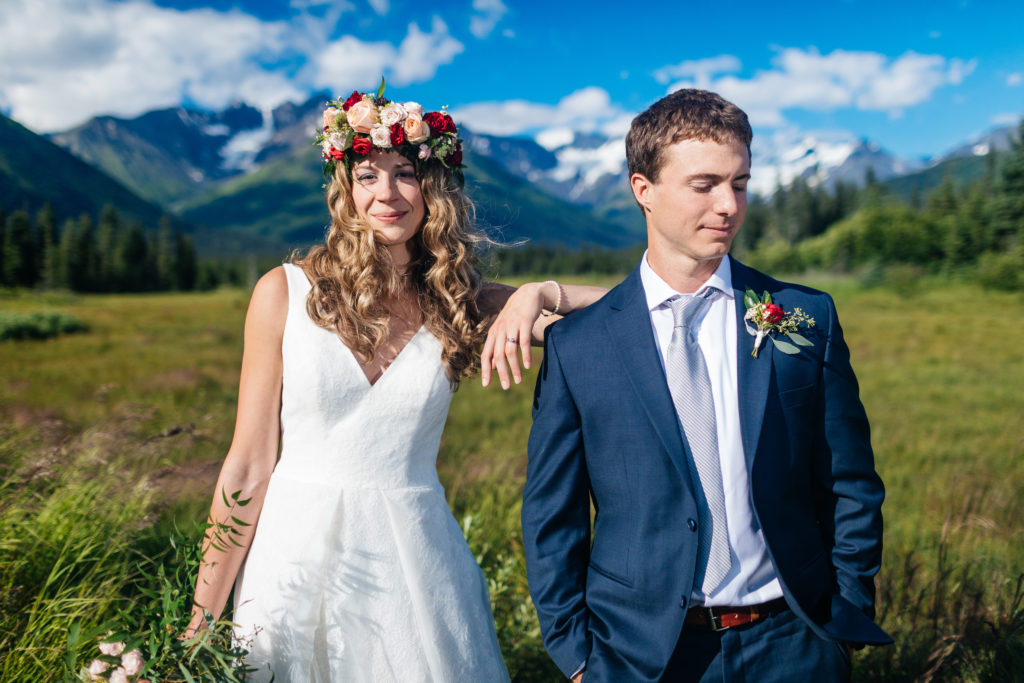 Alaska wedding | flowers by Natasha Price of Paper Peony Alaska