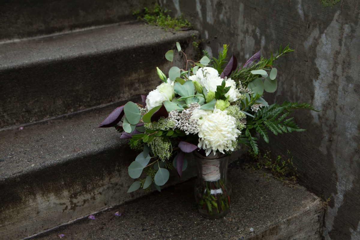 Wild Alaska Wedding Bouquet by Paper Peony Alaska