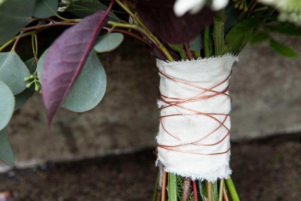 Wild Alaska Wedding Bouquet by Paper Peony Alaska