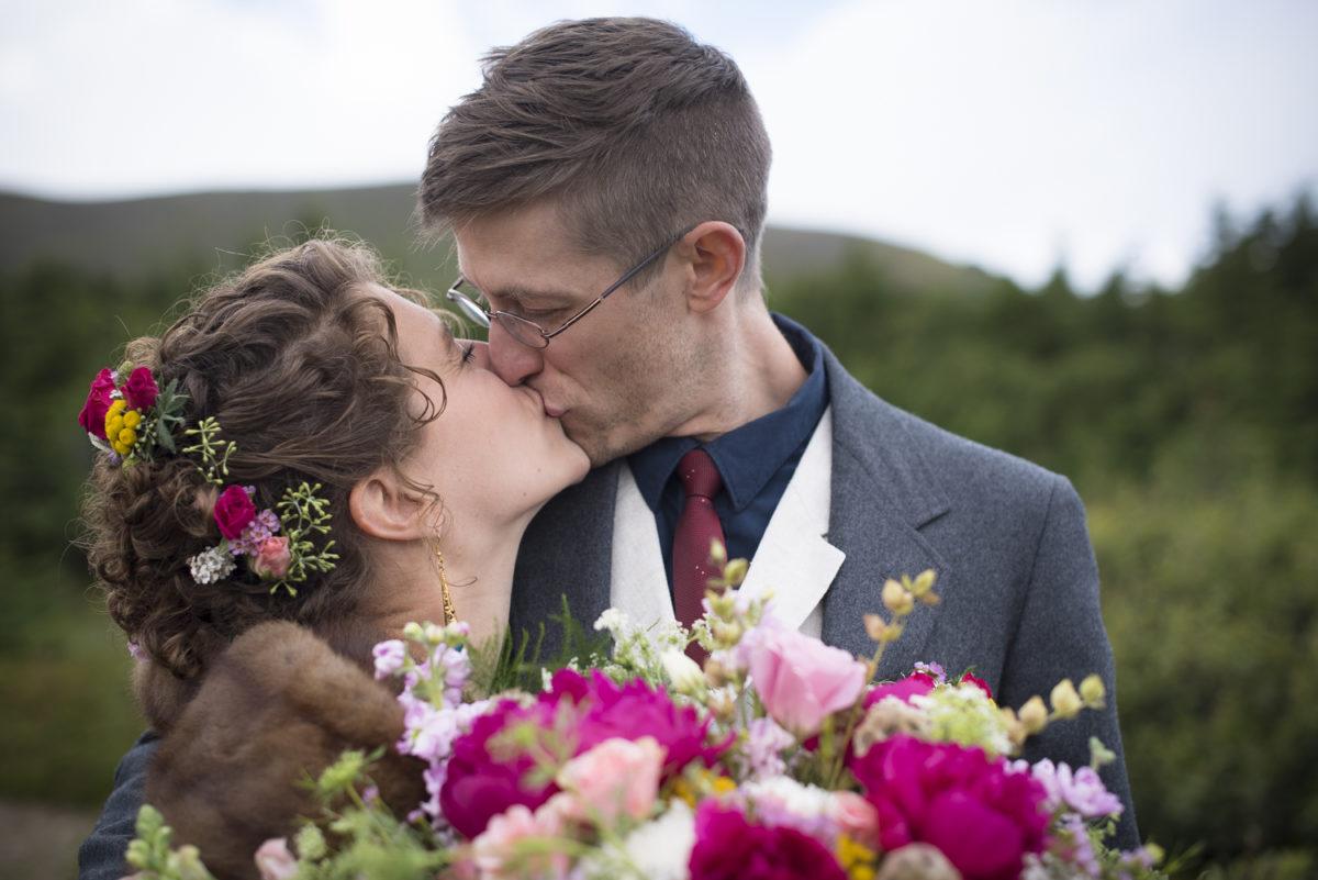 Wedding flowers by Anchorage florist Natasha Price of Paper Peony Alaska | Photo by Chris Sprowls