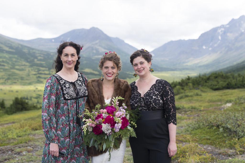 Wedding flowers by Anchorage florist Natasha Price of Paper Peony Alaska   Photo by Chris Sprowls