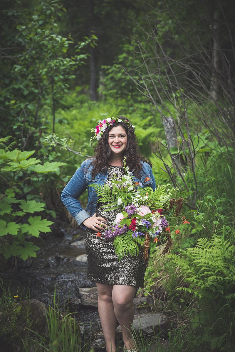 Natasha Price, owner of Paper Peony | Freelance Florist in Anchorage, Alaska