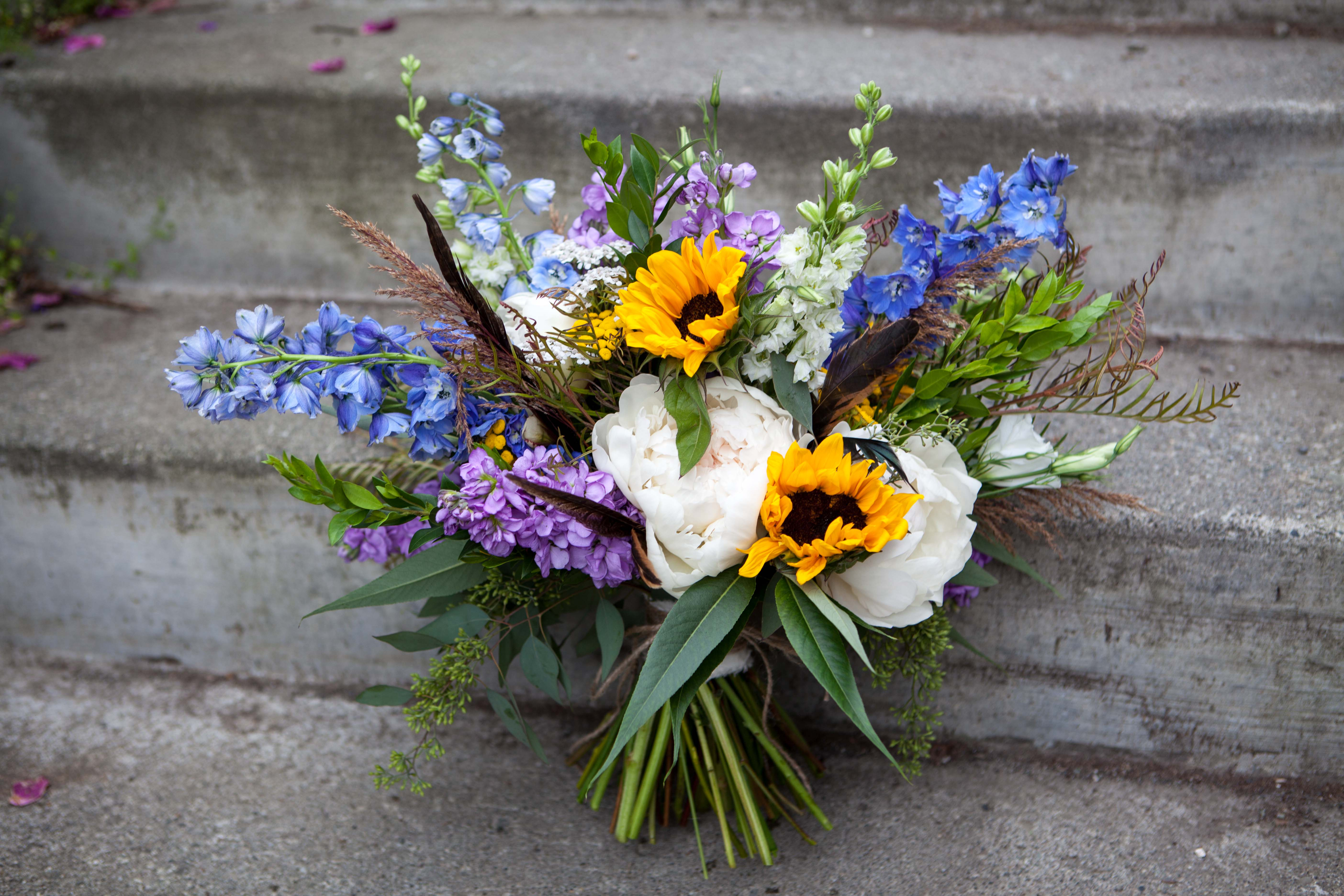 Floral design by Natasha Price of Paper Peony Alaska