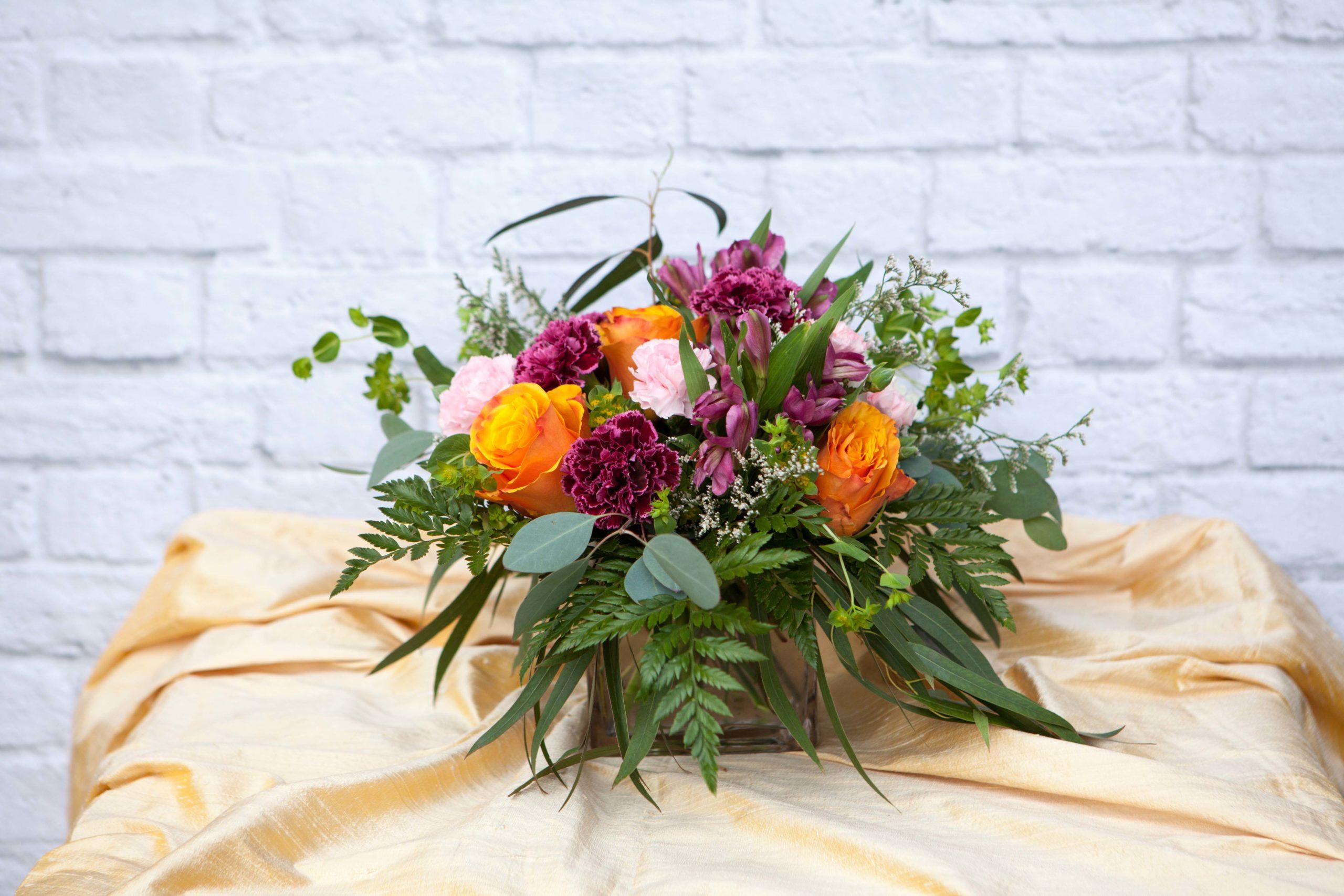 Floral design by Anchorage florist Natasha Price of Paper Peony Alaska